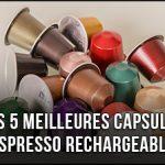 Les 5 meilleures capsules de café pour bien démarrer vos journées
