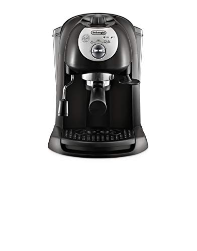 Machine à café De'Longhi EC 201.CD.B pour expresso et cappuccino, café en poudre ou capsules E.S.E., 1100 W, noir