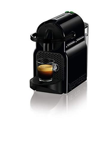 De'Longhi Nespresso Inissia EN80.B Machine à café expresso, capsule, 1260 W, 1 tasse, 14 décibels, 19 bar, plastique, noir (noir)