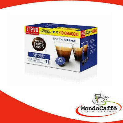 70 capsules de café Nescafé Dolce Gusto Espresso Ardenza + 10 cadeaux gratuits