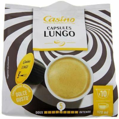 Nouveau !! Nescafé 'Intense 120 capsules de café compatibles Dolce Gusto