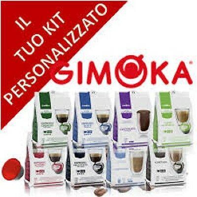 80 capsules dosettes de café compatibles Dolce Gusto Nescafé 'Aroma Ascelta Gimoka