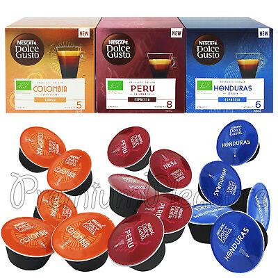 Capsule de café Nescafé Dolce Gusto Colombie Pérou Honduras Mexique Capsule expresso