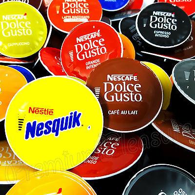 Nescafé Dolce Gusto Coffee Capsules Latte Espreso Cappuccino 2 6 12 20 32 Capsules