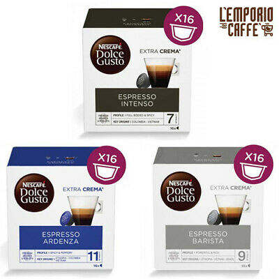 64 Capsules Nescafé Dolce Gusto Espresso Barista-Intenso-Ardenza de votre choix