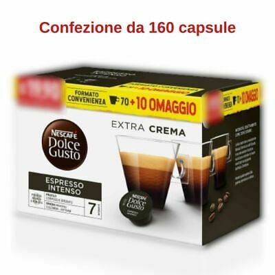 Café Nescafé Dolce Gusto Espresso Intenso 160 capsules