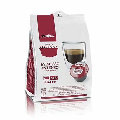 240 capsules de café Nescafé 'Dolce Gusto Gimoka Espresso Intenso compatibles