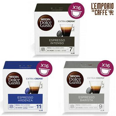 96 capsules Nescafé Dolce Gusto Espresso Barista-Intenso-Ardenza de votre choix