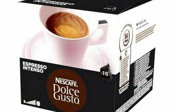 CAPSULES DE CAFÉ Nescafé Dolce Gusto 26406 Espresso Intenso (16 unités) - 5,28 EUR