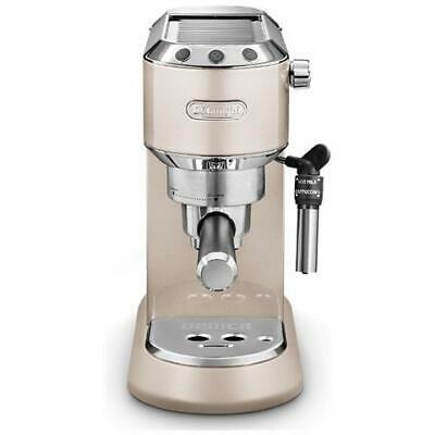 DE LONGHI Dedica Metallics Pump Espresso Machine à café expresso automatique P