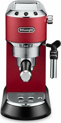 Cafetière à dosette et machine à poudre De Longhi Espresso EC685.R Dedica Style