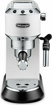 Machine à café expresso manuelle De Longhi Cappuccinatore Pods EC685W Dedica St
