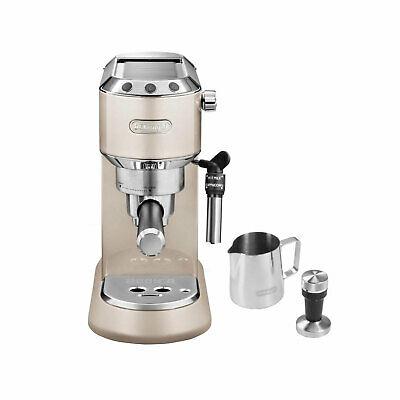 DeLonghi EC 785.BG Dedica Metallics The Barista Pack Espressomaschine Siebträger
