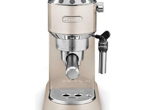 DE LONGHI DEDICATION Metallics Ec 785. bg Machine à café beige Garantie Italie - 201,99 EUR