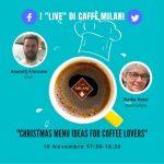 Café protagoniste dans la cuisine, la pâtisserie et la mixologie avec les recettes de professionnels dans le Live du Caffè Milani