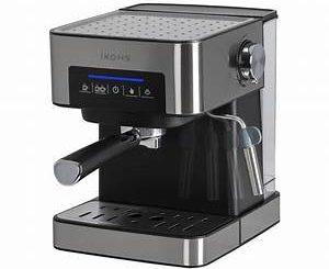 Barre de comptoir arrière pour machine à café