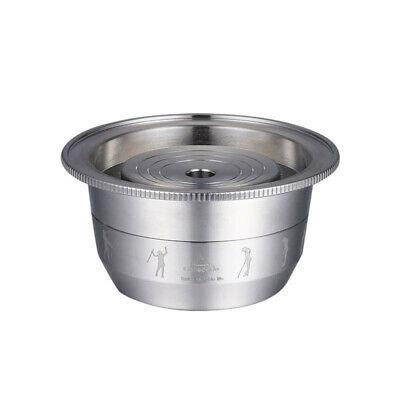 Tasse de filtre de capsule de tasse de café d'acier inoxydable 1PC pour