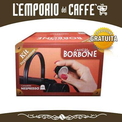 KIT DE DÉGUSTATION CAFÉ BORBONE 60 Capsules Pods compatibles SYSTÈME NESPRESSO