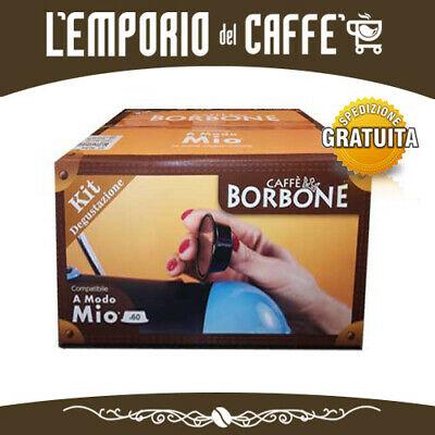KIT DE DÉGUSTATION CAFÉ BORBONE 60 Capsules Pods compatibles LAVAZZA A MODO MIO