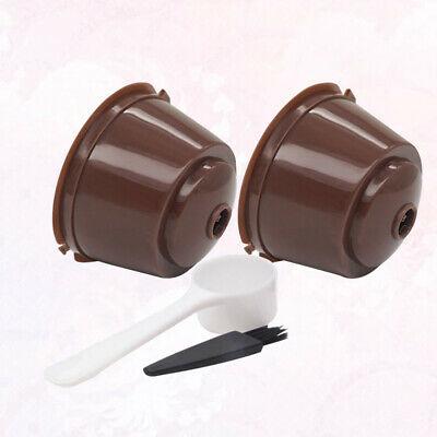 2pcs tasse à café capsule utile Tasse à expresso réutilisable pratique