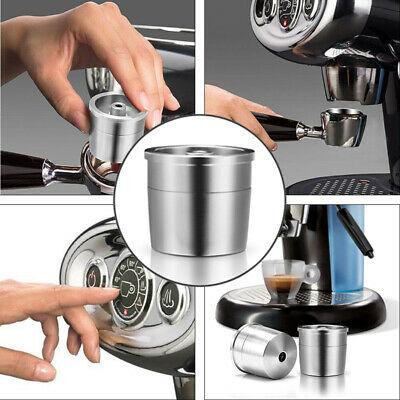 Capsule de café en métal réutilisable réutilisable pour la capsule en acier de Nespresso