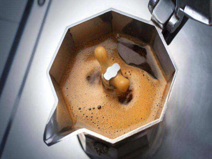 Café expresso avec cuillère impression de recette PHOTO