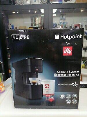 Machine à café Iperespresso Hotpoint for ILLY noir n. Sans capsules d'échantillons
