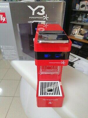 Machine à café Illy Iperespresso Y3 Disponible Rouge NOUVEAU !!!
