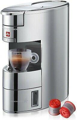 Machine à café Illy X9 IperEspresso Aluminium Chrome 1200w + 14 Capsules