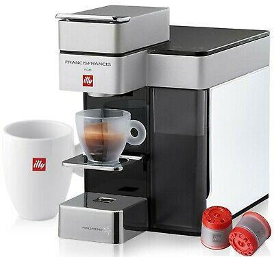 Machine ILLY Y5 Iperespresso pour Espresso & Café 1250W Blanc + 14 Capsules