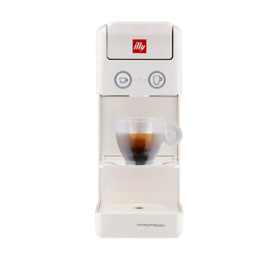 ILLY Y3.3 Espresso & Coffee - Machine à café Iperespresso blanche