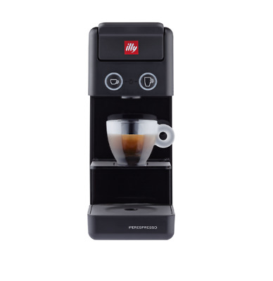 ILLY Y3.3 Espresso & Coffee - Machine à café Iperespresso noire