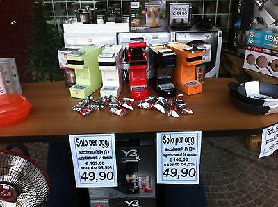 Machine à café Illy Y3 disponible noir n. Sans capsules d'échantillons