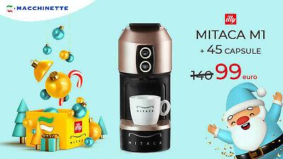 Machine à café MITACA M1 + 45 capsules ILLY et MITACA