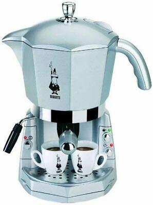 Machine à café espresso trivalent argent Mokona Bialetti Cf40 1050W