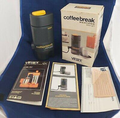 Cafetière expresso Moka Coffeebreak Machine à café design Velox Bertone