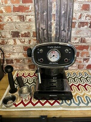 ARIETE 1388/30 FILTRES POUR MACHINE A POUDRE ROUGE CAFE RETRO ET CAPPUC ARX