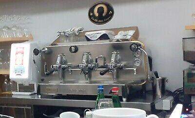 Machine à café FAEMA E61 - 3 groupes - RÉVISÉE et FONCTIONNE PARFAITEMENT
