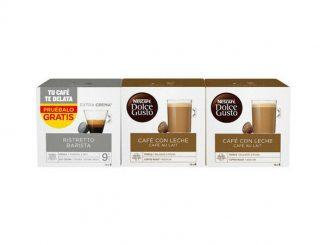 CAPSULES DE CAFÉ Nescafé Dolce Gusto Cafe Au Lait Ristretto Barista (48 uds) - 12,71 EUR
