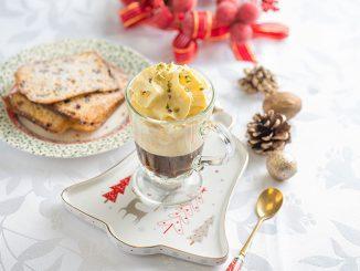 Caffè con spuma alla vaniglia, per chiudere il pasto in bellezza