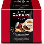 Caffè Corsini Dcc190 - Mélange de café italien classique - Paquet de 100 capsules - ScontiFy.net