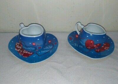 Tasses à café Baci Perugina