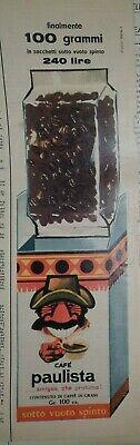 LAVAZZA CAFFE 'TORINO PAULISTA - ancienne publicité publicitaire vintage - LVZ DAD