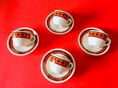 🔴 Set 4 tasses à café Paulista Lavazza Carmencita Armando Testa Tasses PARFAITES