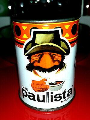 💎Petite machine à café en étain rare Lavazza Paulista Ground 250 G💎