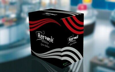 Capsules de café Haromé 300 dosettes compatibles Nespresso no Lavazza Vigoroso