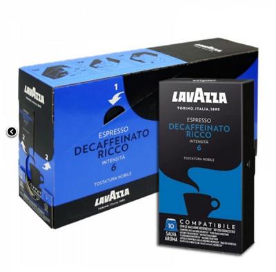 500 dosettes de café NESPRESSO compatibles LAVAZZA RICH DECAFFEINATED
