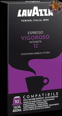 Lavazza 100 capsules Espresso Vigoroso compatibles Nespresso