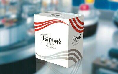400 Pods Haromè Capsules Compatible Nespresso No Lavazza Vigoroso Intense