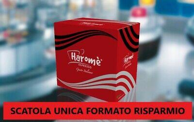 200 dosettes Haromè capsules non compatibles Lavazza Nespresso Vigoroso Cremoso Black